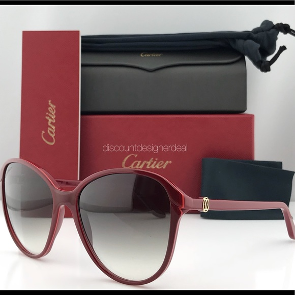 8e73f44c1fa Cartier Women Sunglasses Double C Decor ESW00111